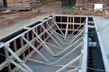 бетон бассейн