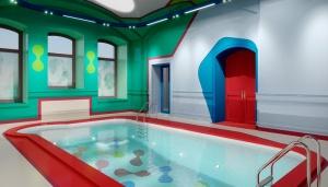 визуализировать бассейн
